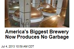 America's Biggest Brewery Now Produces No Garbage