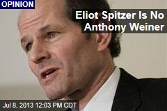 Eliot Spitzer Is No Anthony Weiner