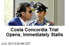 Costa Concordia Trial Opens, Immediately Stalls