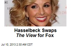 Hasselbeck Swaps The View for Fox