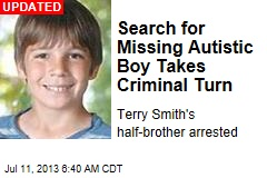 Search for Missing Autistic Boy Takes Criminal Turn