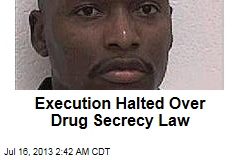 Execution Halted Over Drug Secrecy Law