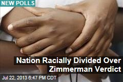 Nation Racially Divided Over Zimmerman Verdict