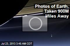 Photos of Earth, Taken 900M Miles Away