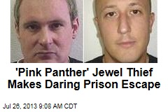 'Pink Panther' Jewel Thief Makes Daring Prison Escape