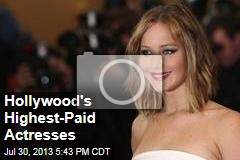 Hollywood's Highest-Paid Actresses