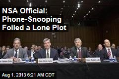 NSA Official: Phone-Snooping Foiled Single Plot