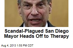 Scandal-Plagued San Diego Mayor Heads Off to Therapy