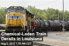 Train With Toxic Load Derails in Louisiana