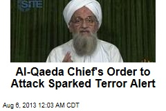 Al-Qaeda Chief's Message Sparked Terror Alert