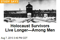 Holocaust Survivors Live Longer—Among Men