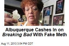 Albuquerque Cashes in on Breaking Bad with Candy Meth