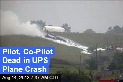 UPS Cargo Plane Crashes in Alabama