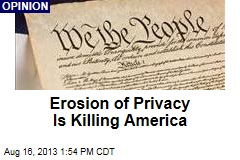 Erosion of Privacy Is Killing America