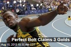Perfect Bolt Claims 3 Golds