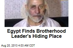 Egypt Busts Brotherhood's Spiritual Leader
