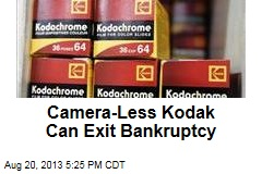 Camera-Less Kodak Can Exit Bankruptcy