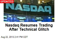 Nasdaq Halts Trading, Cites Technical Issues