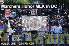 Marchers Honor MLK in DC