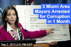 3 Miami Area Mayors Arrested for Corruption in 1 Month