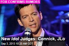New Idol Judges: Connick, JLo