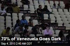 70% of Venezuela Goes Dark
