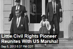 Little Civil Rights Pioneer Reunites With US Marshal