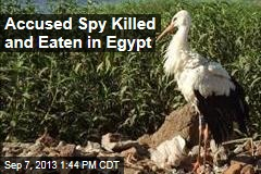 Accused Spy Killed and Eaten in Egypt