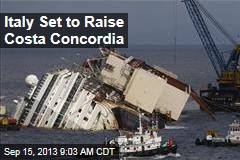 Italy Set to Raise Costa Concordia