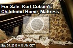 For Sale: Kurt Cobain's Childhood Home, Mattress