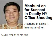 Manhunt on for Suspect in Deadly NY Office Shooting