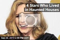 4 Stars Who Lived in Haunted Houses