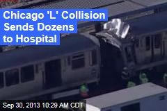Wrong-Way Train Causes Crash in Chicago