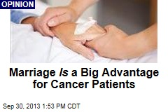 Marriage Is a Big Advantage for Cancer Sufferers
