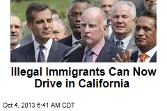 Illegal Immigrants Can Now Drive in California