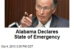 Alabama Declares State of Emergency