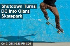 Shutdown Turns DC into Giant Skatepark