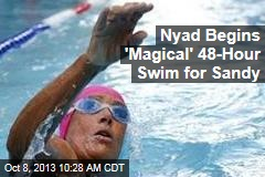 Nyad Begins 'Magical' 48-Hour Swim for Sandy