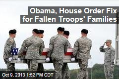 Shutdown Halts Payments to Families of Fallen Troops