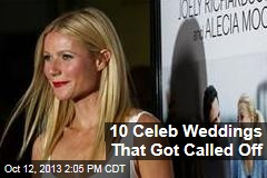10 Celeb Weddings That Got Called Off
