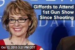 Giffords to Attend 1st Gun Show Since Shooting