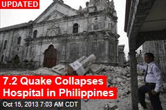 Major Quake Shakes Philippines