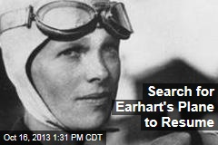 Search for Earhart's Plane to Resume