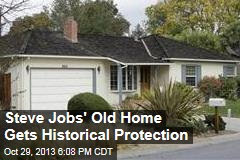 Steve Jobs' Old Home Gets Historical Protection