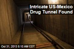 Intricate US-Mexico Drug Tunnel Found
