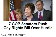 GOPers Help Gay Rights Bill Over Senate Hurdle