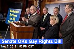 Senate OKs Gay Rights Bill