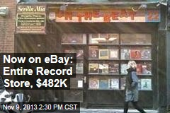 Now on eBay: Entire Record Store, $482K