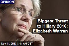 Biggest Threat to Hillary 2016: Elizabeth Warren