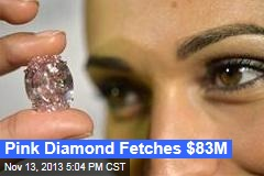 Pink Diamond Fetches $83M